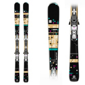 Salomon Bamboo Womens Skis with Z10 Ti W Bindings, , medium