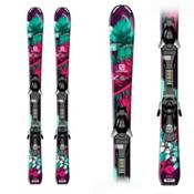Salomon Q-Lux Kids Skis with EZY 7 Bindings 2016, , medium