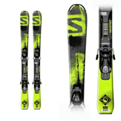 Salomon Q-Max Jr. S Kids Skis with Ezy 5 Bindings, , medium