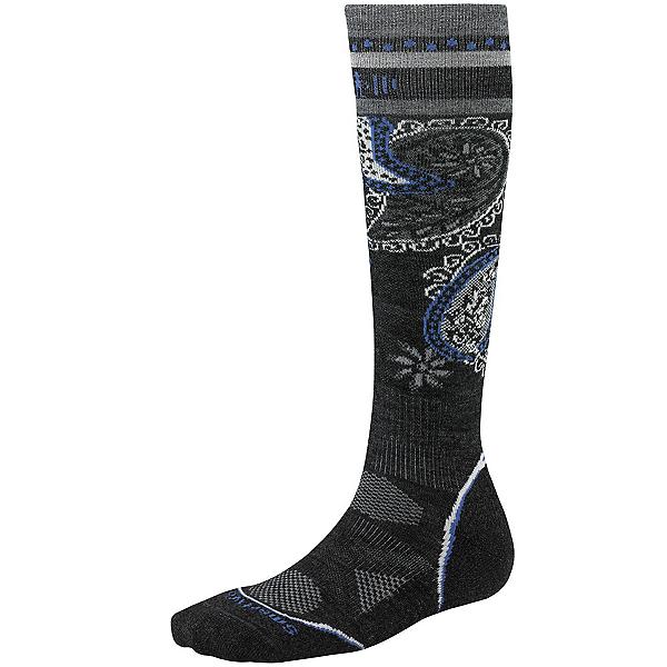SmartWool PhD Ski Light Pattern Womens Ski Socks, , 600