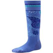 SmartWool Polar Purple Girls Snowboard Socks, Polar Purple, medium