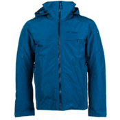 Arc'teryx Macai Mens Insulated Ski Jacket, Thalo Blue, medium