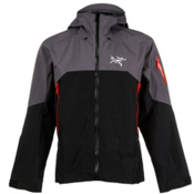 Arc'teryx Rush Mens Shell Ski Jacket, Black Storm, medium