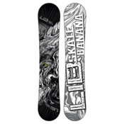 Lib Tech Skate Banana Snowboard 2015, Black-White, medium
