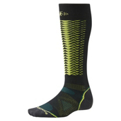 SmartWool PHD Downhill Racer Ski Socks, Black, medium