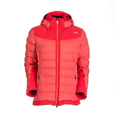 KJUS Snowray Womens Insulated Ski Jacket, Lake Hillier Melange-Lake Hill, viewer