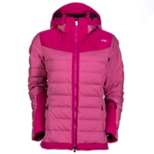 KJUS Snowray Womens Insulated Ski Jacket, Glam Melange-Glam, medium