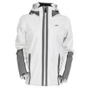 KJUS Relief Womens Insulated Ski Jacket, White-Grey Melange, medium