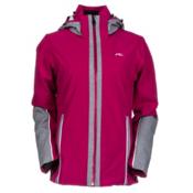 KJUS Relief Womens Insulated Ski Jacket, Glam-Grey Melange, medium