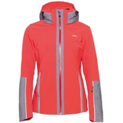KJUS Relief Womens Insulated Ski Jacket, Lake Hillier-Grey