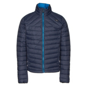 KJUS Blackcomb Mens Jacket, Atlanta Blue-Malawi Blue, medium