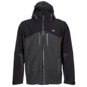 KJUS Ridge Mens Insulated Ski Jacket, Black-Dusk, medium