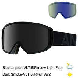 Anon Relapse Goggles, Smoke-Dark Smoke, 256