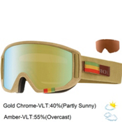 Anon Relapse Goggles 2015, Hemp-Gold Chrome, medium