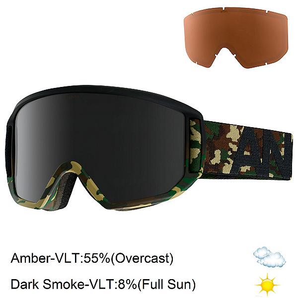 Anon Relapse Goggles, Guerrilla-Dark Smoke, 600
