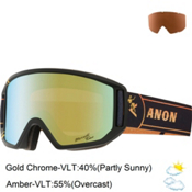 Anon Relapse Goggles, Merrill Pro-Gold Chrome, medium