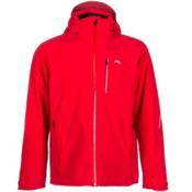 KJUS Formula Mens Insulated Ski Jacket, Scarlet-Crimson, medium