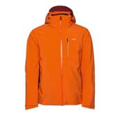 KJUS Formula Mens Insulated Ski Jacket, K Orange-Crimson, medium
