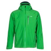 KJUS Formula Mens Insulated Ski Jacket, Clover Leaf-Taiga, medium