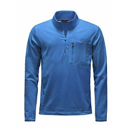 KJUS Hydraulic Half Zip Mens Mid Layer, Malawi Blue-Alaska, 256