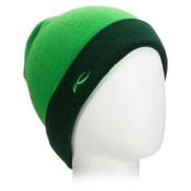 KJUS Turn Beanie Hat, Clover Leaf-Taiga, medium