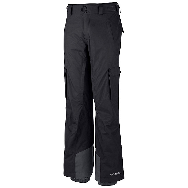 Columbia Ridge 2 Run II Mens Ski Pants, Black, 600