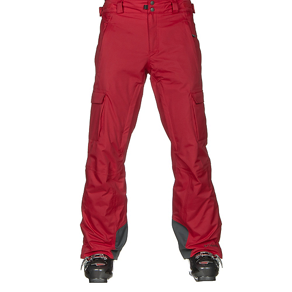 Columbia Ridge 2 Run II Mens Ski Pants, Mountain Red, 600