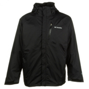 Columbia Powderkeg Interchange Big Mens Insulated Ski Jacket, Black, medium