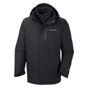 Columbia Powderkeg Interchange Tall Mens Insulated Ski Jacket, Black, medium