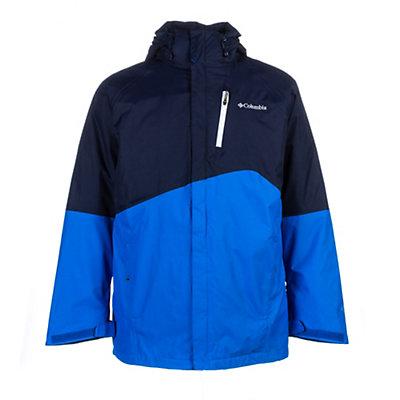 Columbia Powderkeg Interchange Tall Mens Insulated Ski Jacket, Black, viewer