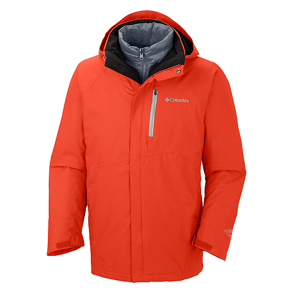 Columbia Powderkeg Interchange Tall Mens Insulated Ski Jacket, , 600