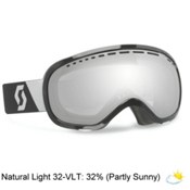 Scott Off Grid Goggles, Black-Natural Lens Black Chrome, medium