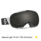 Scott Off Grid Goggles, Black-Natural Lens Black Chrom, medium