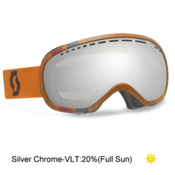Scott Off Grid Goggles, Outdoor Orange-Silver Chrome, medium