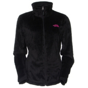 The North Face PR Osito 2 Womens Jacket, TNF Black, medium