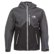 The North Face Fuse Uno Mens Shell Ski Jacket, Asphalt Grey-Vaporous Grey, medium