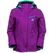Salomon Fantasy Womens Insulated Ski Jacket, Little Violette, medium