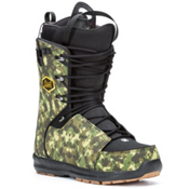 Salomon Launch Lace Str8Jkt Snowboard Boots, Black-Camo, medium