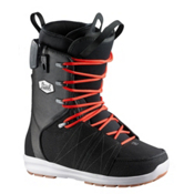 Salomon Launch Lace Str8Jkt Snowboard Boots, Black Denim, medium