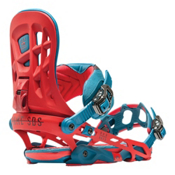 Rome 390 Boss Snowboard Bindings, Red, medium