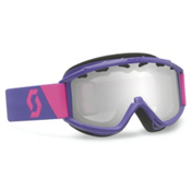 Scott Hook Up Kids Goggles 2015, Purple-Silver Chrome, medium