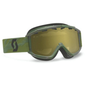 Scott Hook Up Kids Goggles 2015, Camo Green-Silver Chrome, medium
