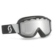Scott Hook Up Kids Goggles, Insideout Black-Silver Chrome, medium