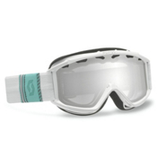 Scott Hook Up Kids Goggles, Ribbon White-Silver Chrome, medium