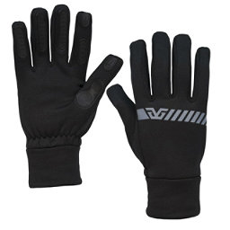 Gordini Tactip Stretch Touch Screen Glove Liners, Black, 256