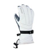 Gordini GORE-TEX Down II Womens Gloves, White-Clay Grey, medium
