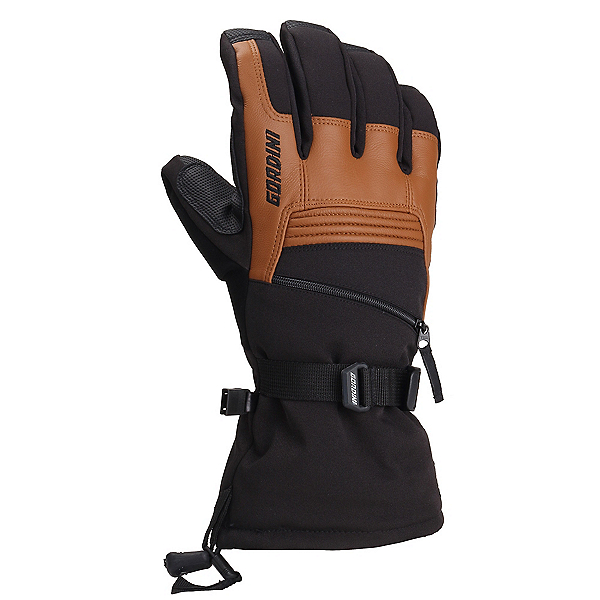 Gordini Gore-Tex Storm Trooper II Gloves, Black-Tan, 600