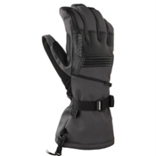Gordini Gore-Tex Storm Trooper II Gloves, Gun Metal Black, medium