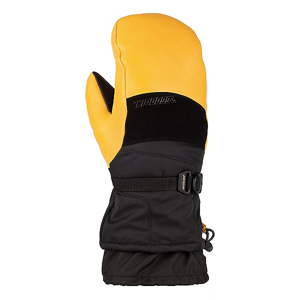 Gordini The Polar Mittens, Black-Gold, 600