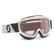 Scott Tracer Kids Goggles 2015, White-Double Amplifier, medium